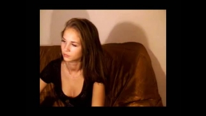 Pretty teen eats naughty fingers and toyed on good basis