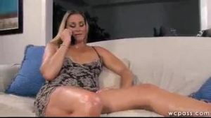 Extra big black milf mom sucking